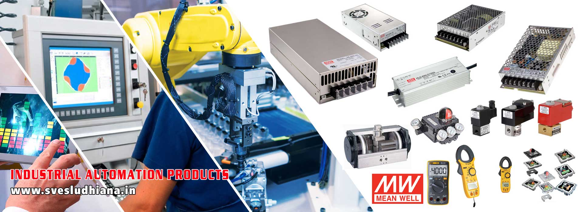 Industrial Electrical Automation Spare Parts dealers supplers in India Punjab Ludhiana