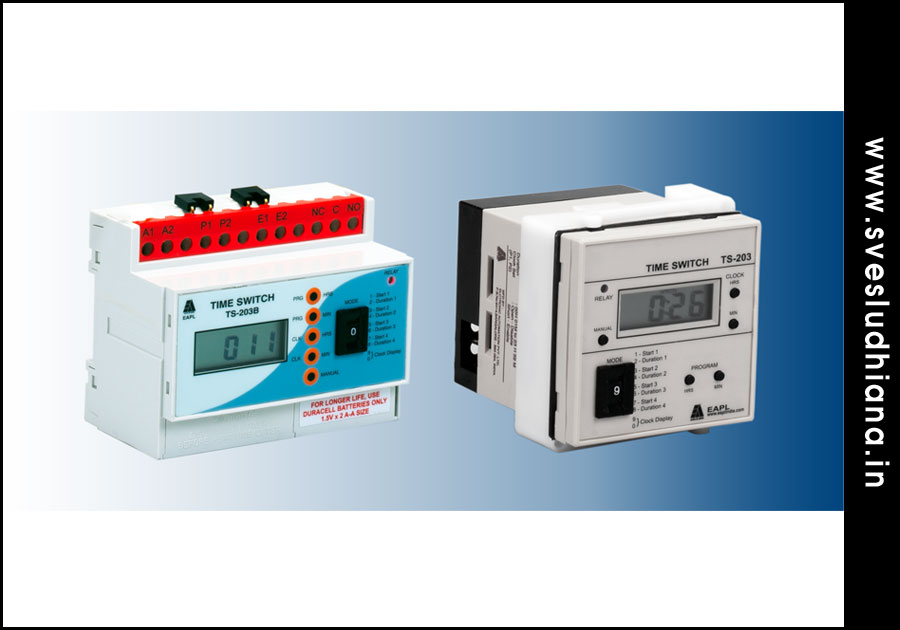 Digital Time Switches electrical automation products suppliers dealers distributors in Ludhiana Punjab India