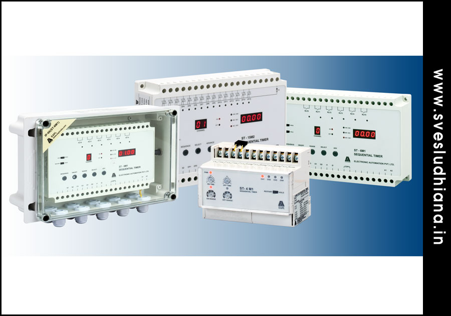 Sequential Timers electrical automation products suppliers dealers distributors in Ludhiana Punjab India
