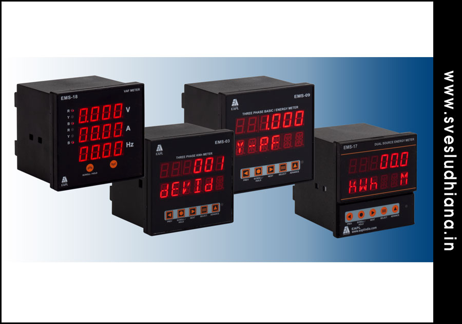 Energy Meters electrical automation products suppliers dealers distributors in Ludhiana Punjab India